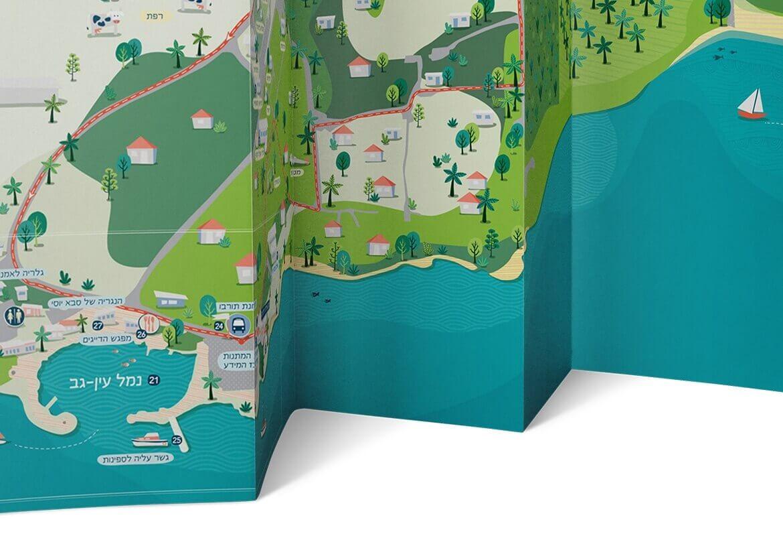 מפה תיירות עין-גב